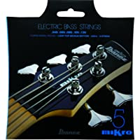 Ibanez Mikro Bass Guitar Strings IEBS5CMK IEBS Coated Nickel Bass Guitar Strings, Medium 5-String