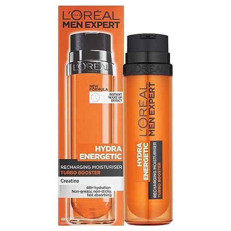 LOreal Men Expert Hydra Energetic Hidratante Fluid relojes de alarma anti-Parés 50ml