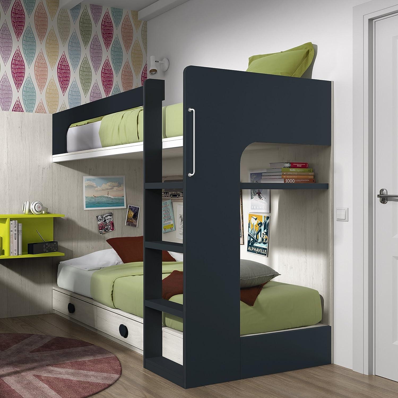 lit mezzanine style superposé