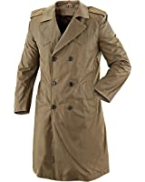 Genuine ITALIAN Military Issued Surplus Double-Breasted TRENCH Coat GRADE 1