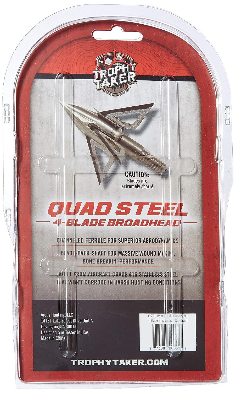 Trophy Taker T7201 Archery Broadheads, 125 Grain Ramcat