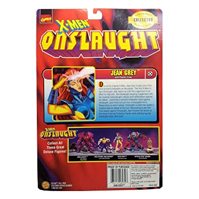 X-Men Onslaught Jean Grey Action Figure with Psychic Claw: Toys & Games