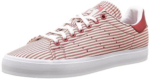 online retailer 800ac 647c3 adidas Originals Baskets adidas Originals Stan Smith Vulc - M17190 -  Zapatillas de Deporte de Otra Piel Unisex Adulto, (Colred Cwhite Ftwwht),  ...