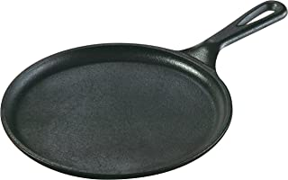 product image for Lodge 8.38 in Cast Iron Round Griddle, Black