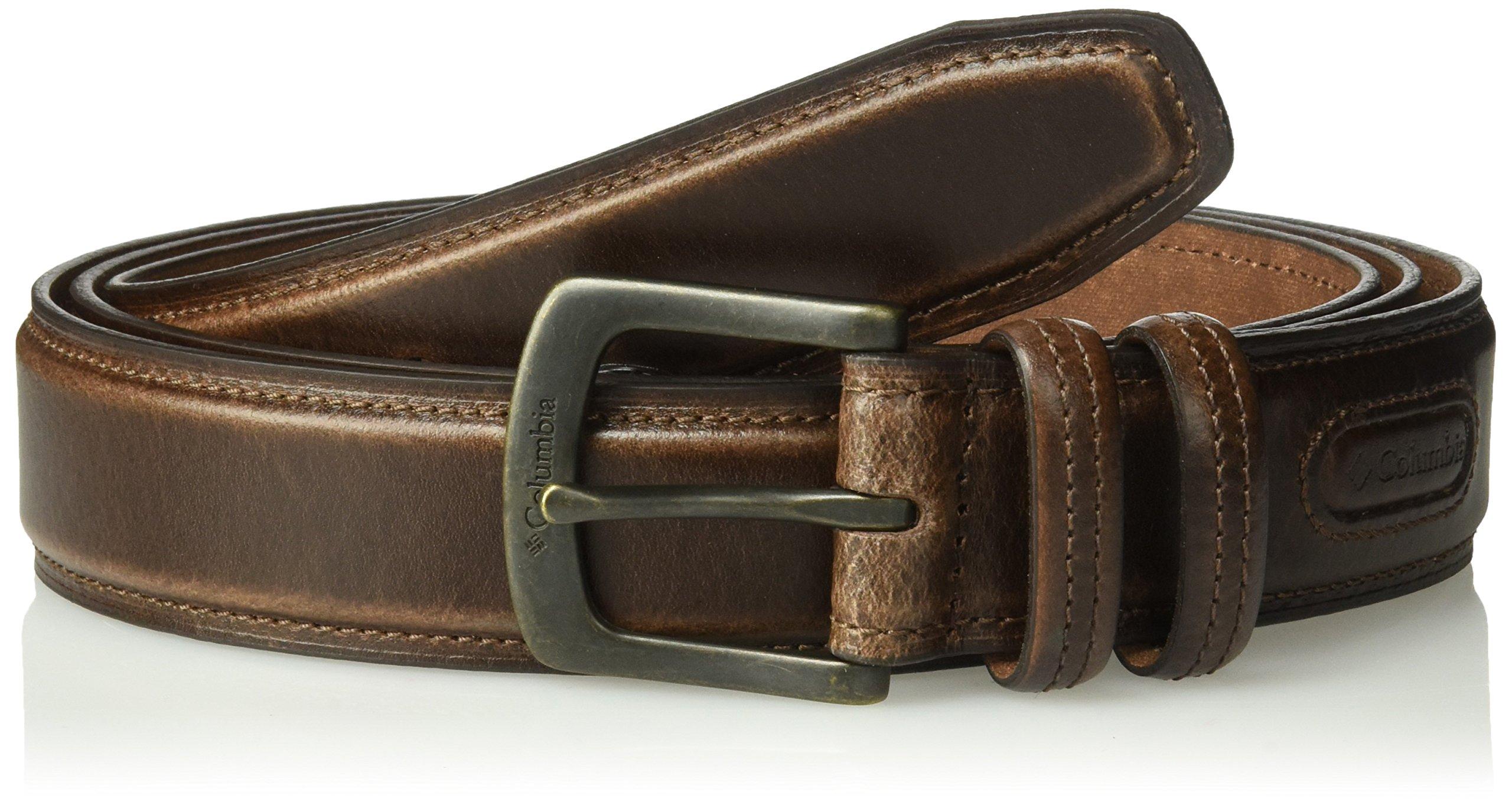 Columbia Men's 1 9/16 in. Oil Tan Leather Belt,Brown,36