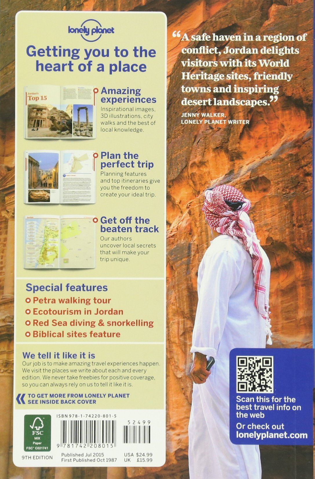 Lonely Planet Jordan Travel Guide Amazoncouk Lonely Planet