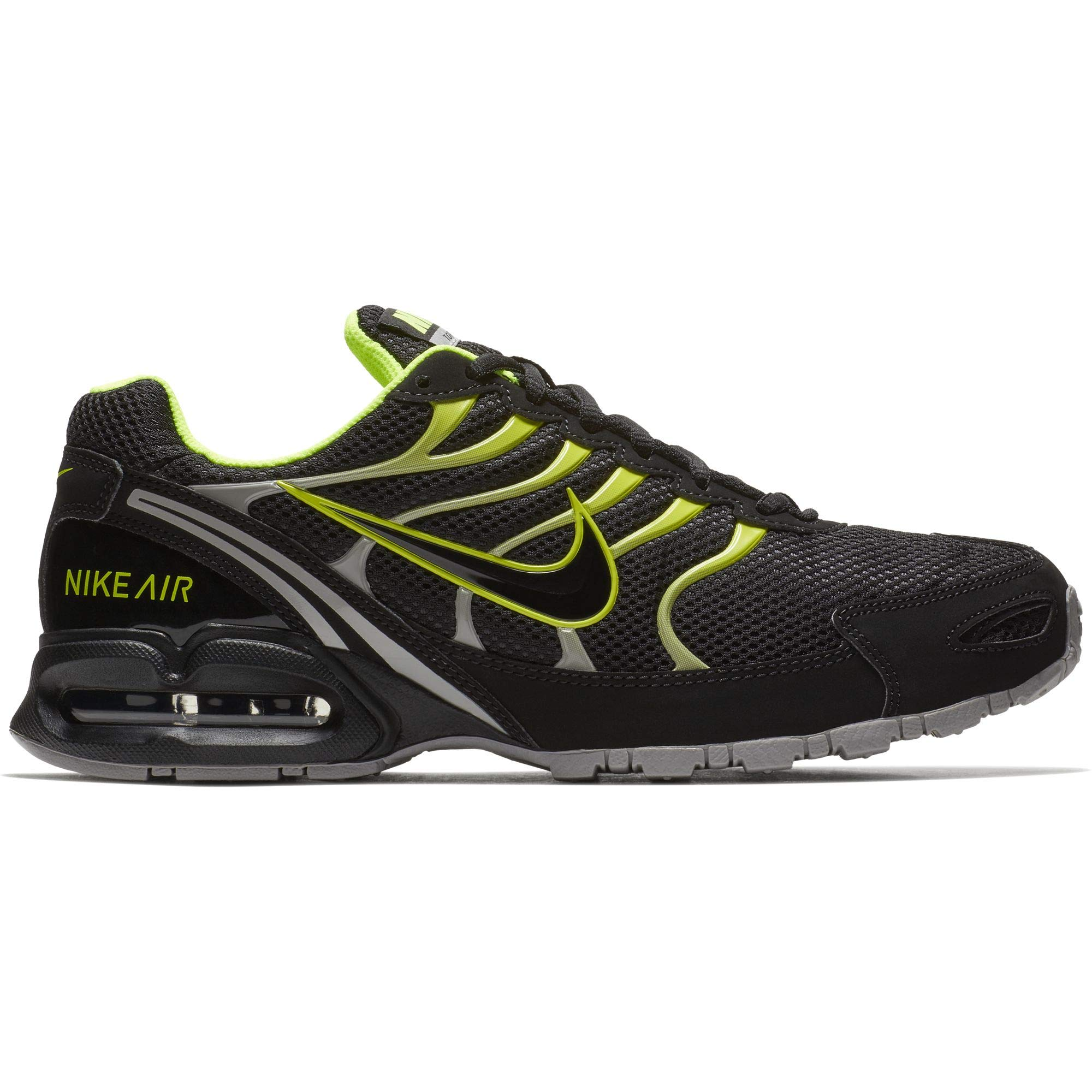 066a24632e7dc Galleon - Nike Men s Air Max Torch 4 Running Shoe Black Volt Atmosphere Grey  Size 9.5 M US