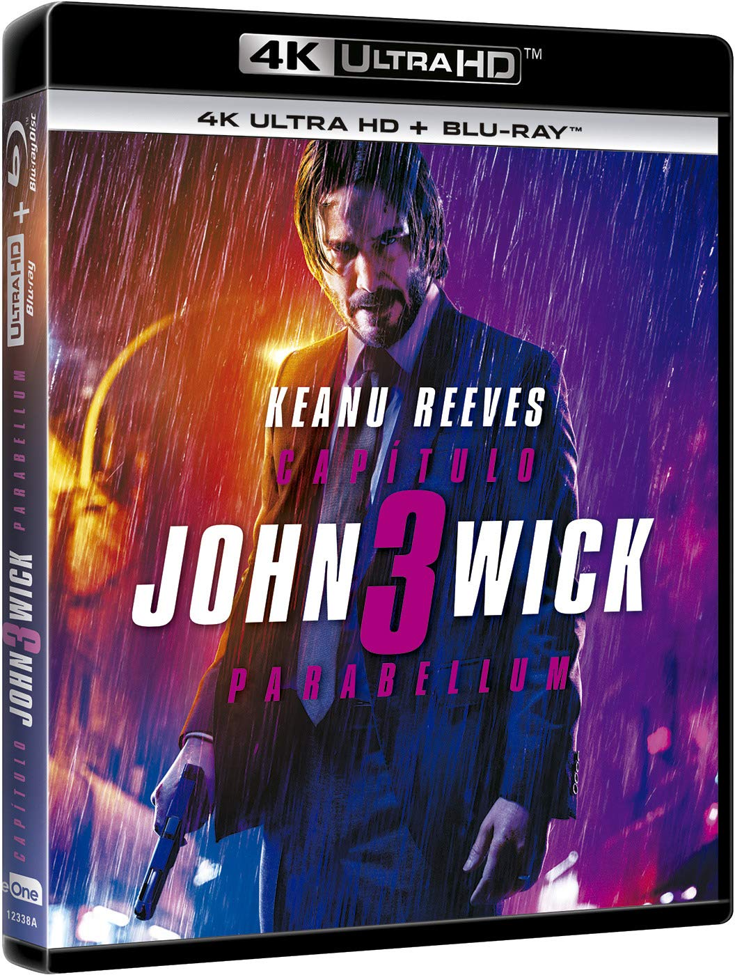 John Wick 3 Parabellum 4K Ultra HD + Blu-ray Blu-ray: Amazon.es: Keanu Reeves, Halle Berry, Ian McShane , Chad Stahelski, Keanu Reeves, Halle Berry, Summit Entertainment, 87Eleven, Lionsgate, Thunder Road Pictures: Cine