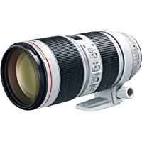Canon EF 70-200mm f/2.8L is III USM Lens L-Series Professional Telephoto Zoom Lens for Canon Digital SLR Cameras - (Aperture Range f/2.8-32, 77mm Filter Thread Diameter)