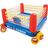 "Intex Jump-O-Lene Boxing Ring Inflatable Bouncer, 89"" X 89"" X 43.5"", for Ages 5-7"