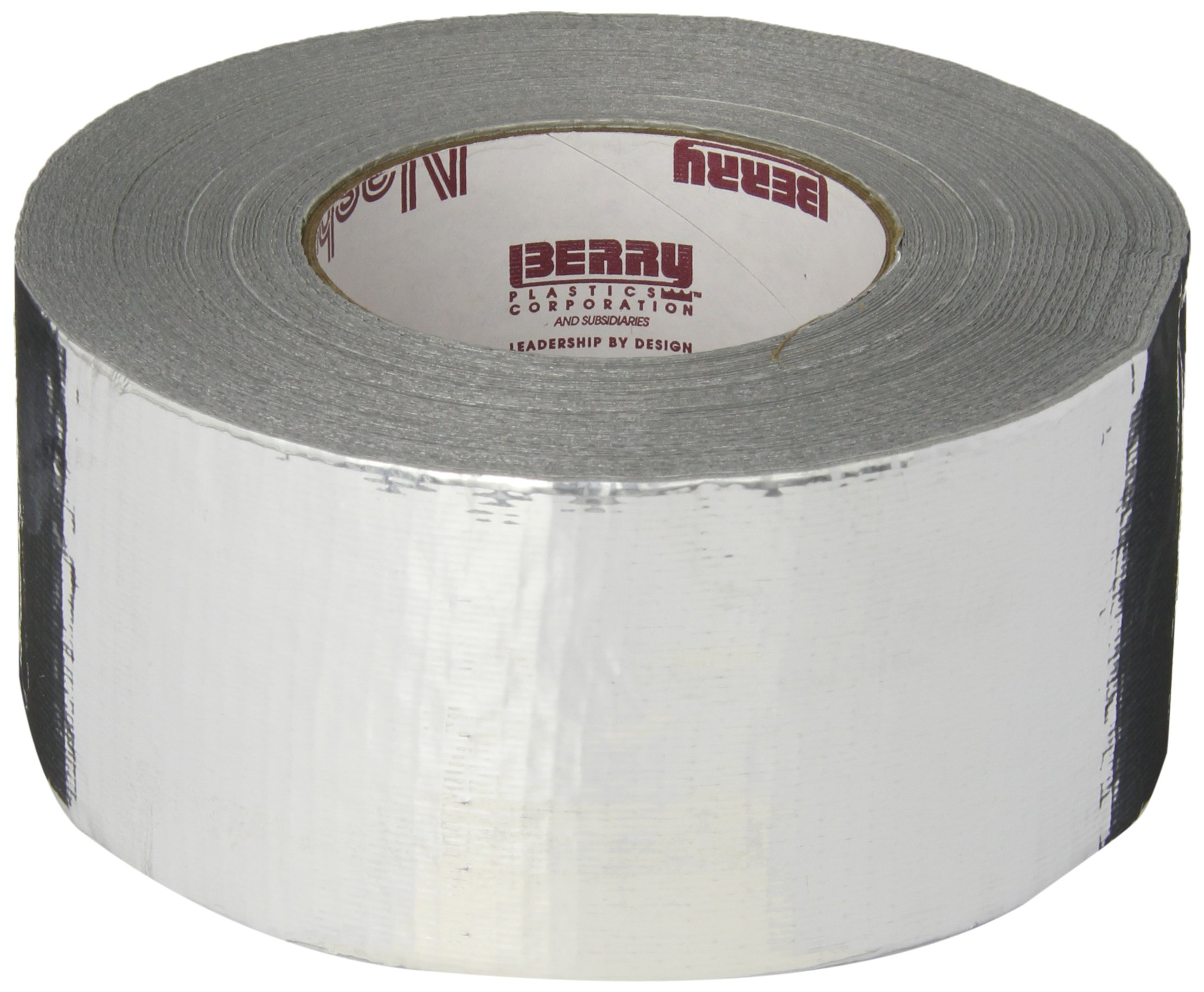 Nashua 365 Polyethylene Coated Cloth Professional Grade Duct Tape, 55m Length x 72mm Width, Metallic by Nashua (Image #1)