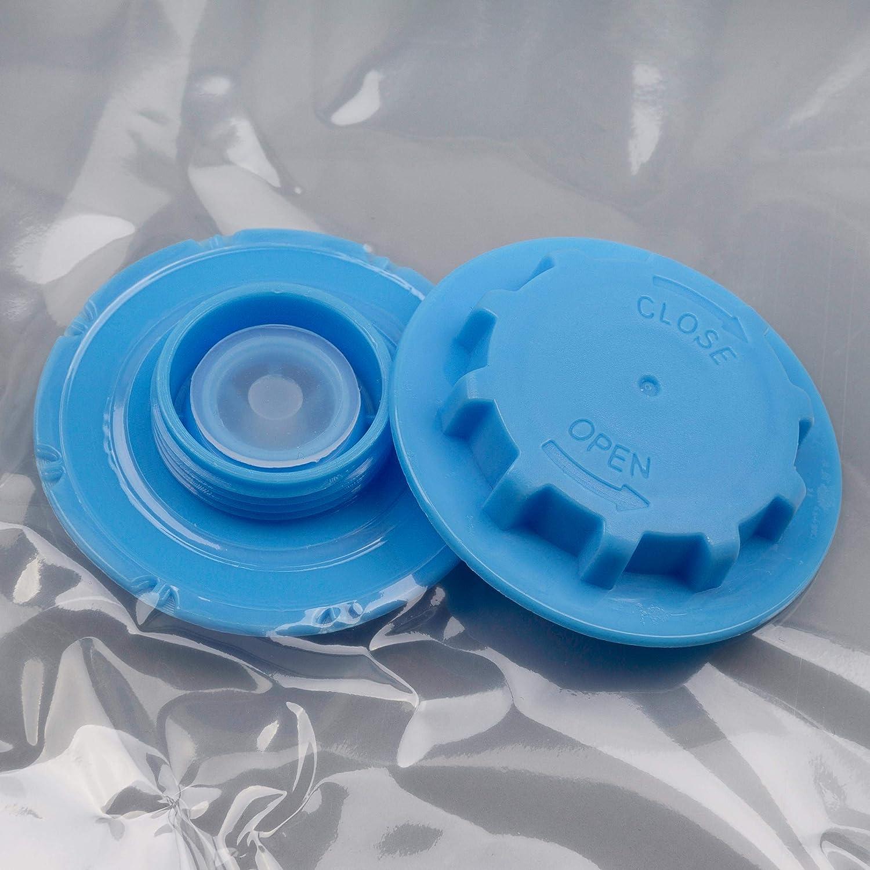 6 Verschiedene Gr/ö/ßen Wiederverwendbare Kleiderbeutel Kompressionsbeutel mit Staubsauger inkl Reisebeutel zum Rollen Nexos 22tlg Set Vakuumbeutel-Aufbewahrungsbeutel