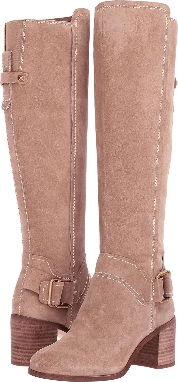 Franco Sarto Women's Mystic Knee High Boot B076DFRHKH 11 B(M) US|Sandstone Suede