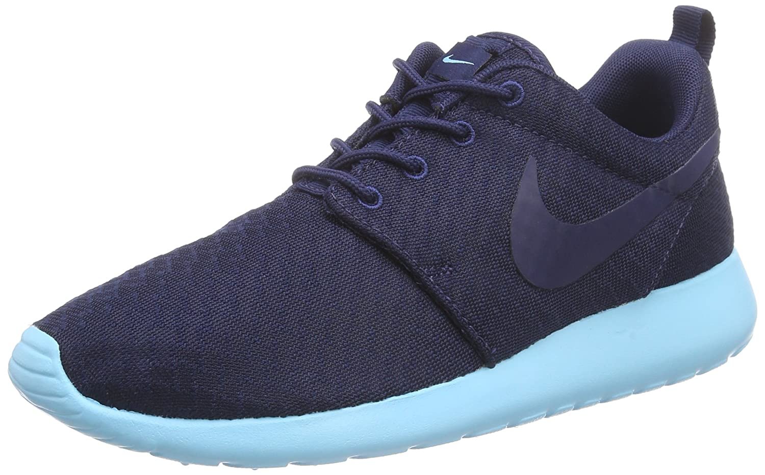 NIKE Women's Roshe One Running Shoe B00R54V1QG uk 4.5 us 7 eu 38|Navy Blue
