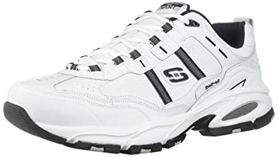 983975e59 Skechers Sport Men s Vigor 2.0 Serpentine Memory Foam Sneaker White ...