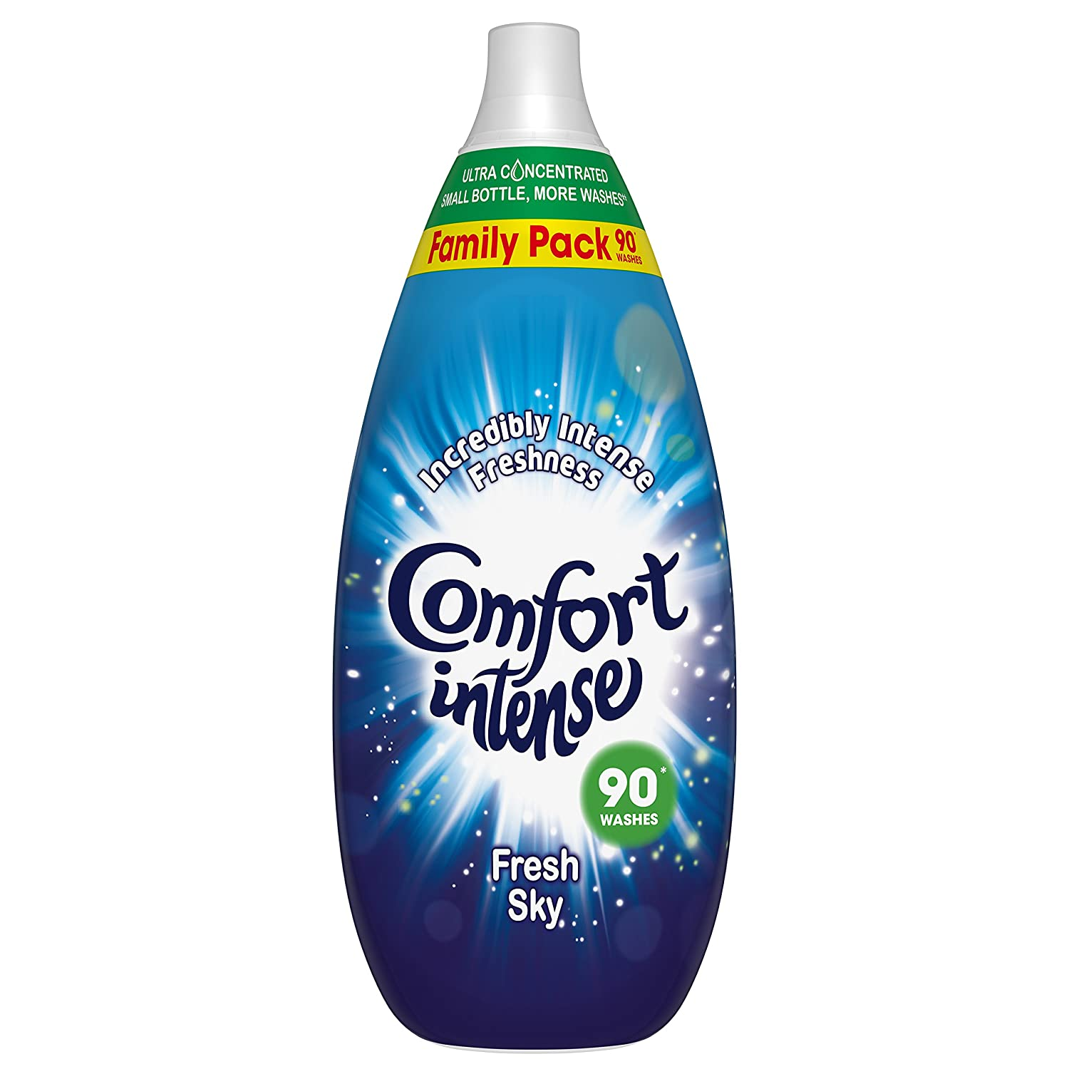Comfort Intense Fresh Sky Fabric Conditioner, 90 Wash, 1.35 Litre, Pack of 6 Unilever UK 8710447374733
