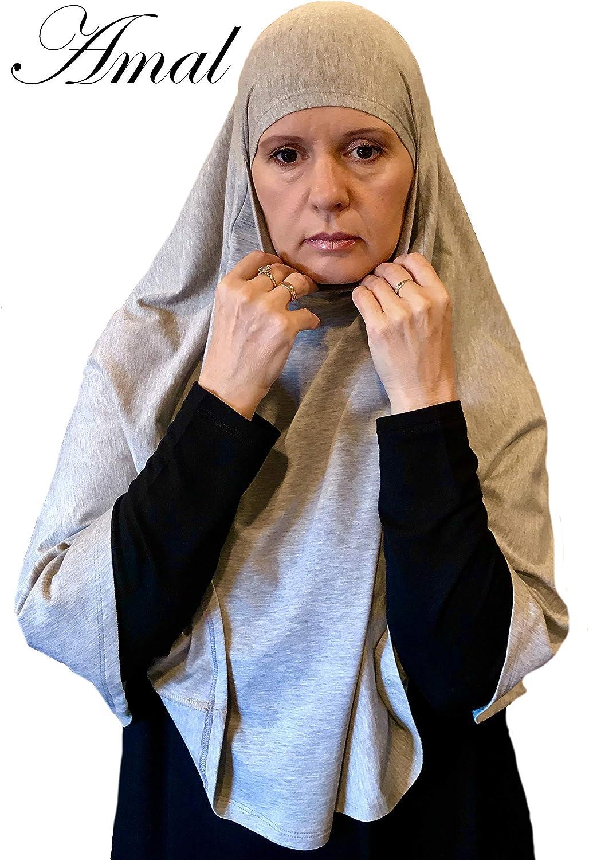 AMAL Niqab Muslim Nikab Women Burka Overhead Jilbab Long Hijab Abaya Khimar