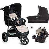 Hauck Rapid 3 Plus Trio Set - Carro deportivo 0 meses hasta 25 kg, coche de bebes 3 piezas de…