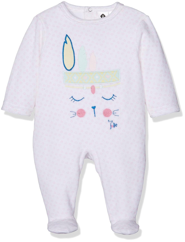 Grain de Blé Db Createur Vls, Pelele para Dormir para Bebés Rosa (Rose Moyen 34) 1J54045