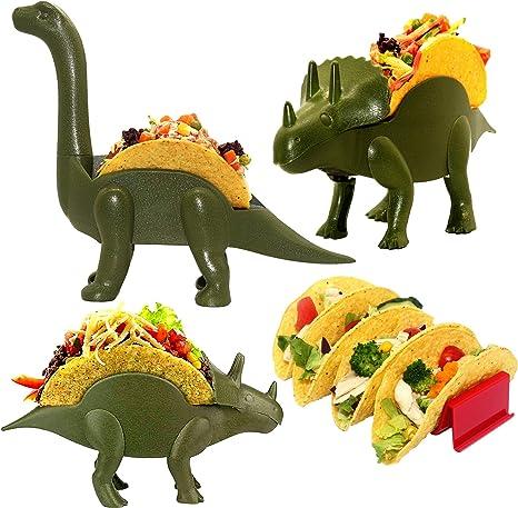 Dinosaur Taco Holder set of 4