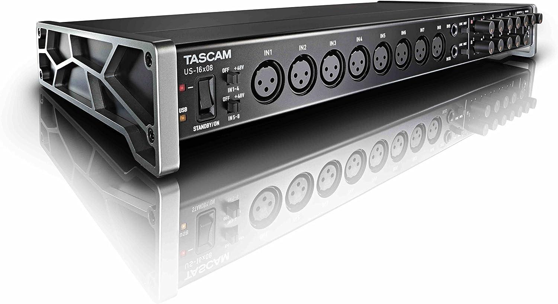 Tascam US-16x08 – Interfaz audio/MIDI USB (16 entradas, 8 salidas ...