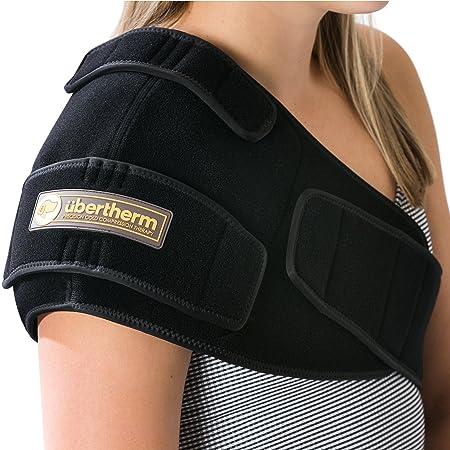 übertherm Hombrera de compresión en frío para el Alivio del Dolor - Tecnología Ice Pillow para un enfriamiento Alivia el Dolor y Reduce la inflamación: ...