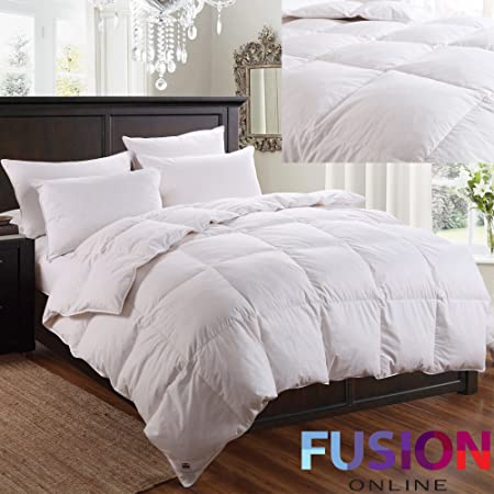 All sizes Luxurious Duck Feather /& Down Duvet At Great Value Natural 13.5 Tog