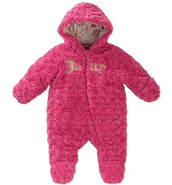 ab3796ca92f9 Amazon.com  Juicy Couture Baby Girl`s Plush Sherpa Pram