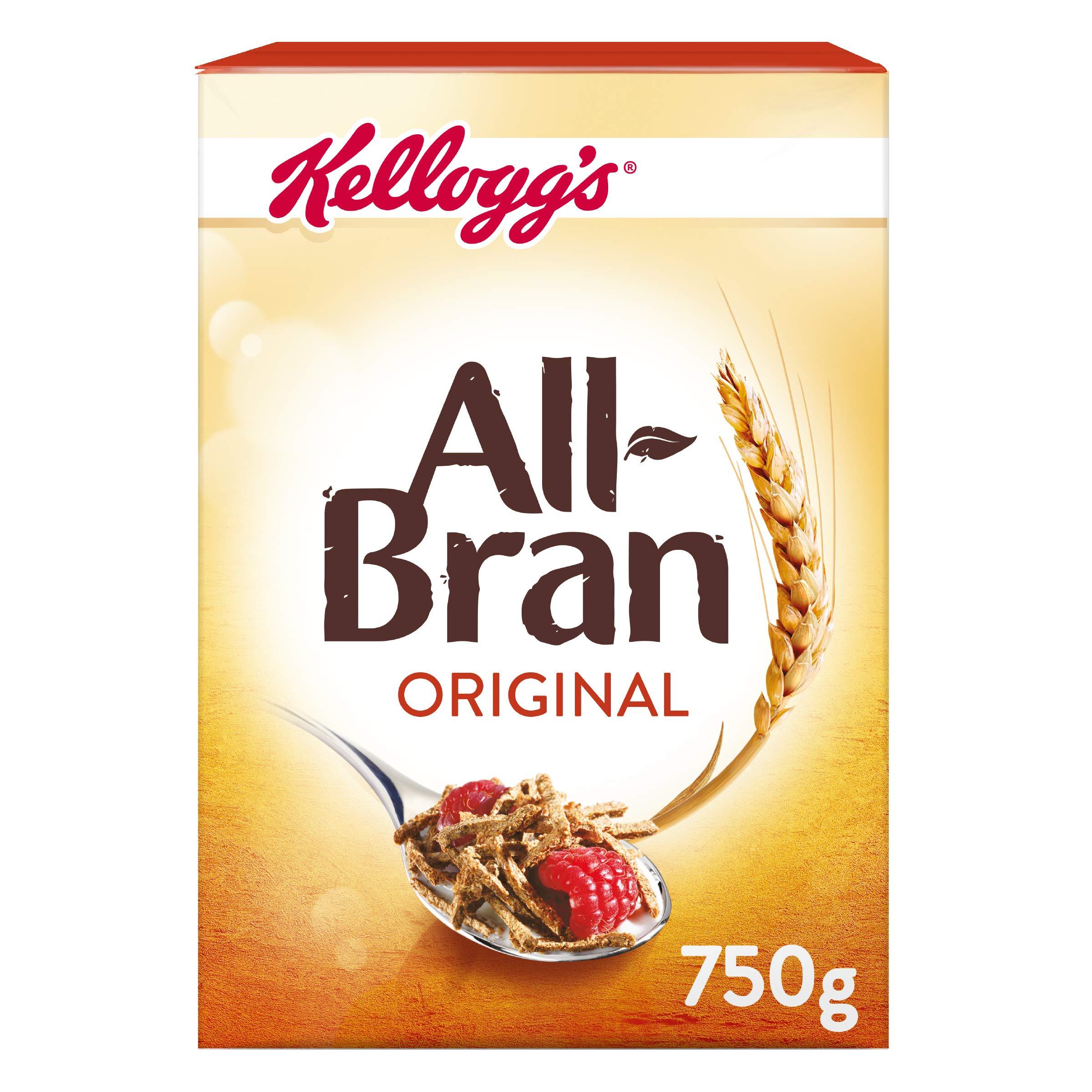 All-Bran Original Cereal 750 g, Pack of 6