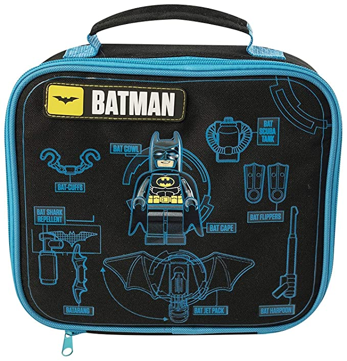 THE LEGO BATMAN MOVIE KIDS BOYS SCHOOL TRIPS INSULATED LUNCH BAG 9027   Amazon.co.uk  Clothing 8813388d7d888