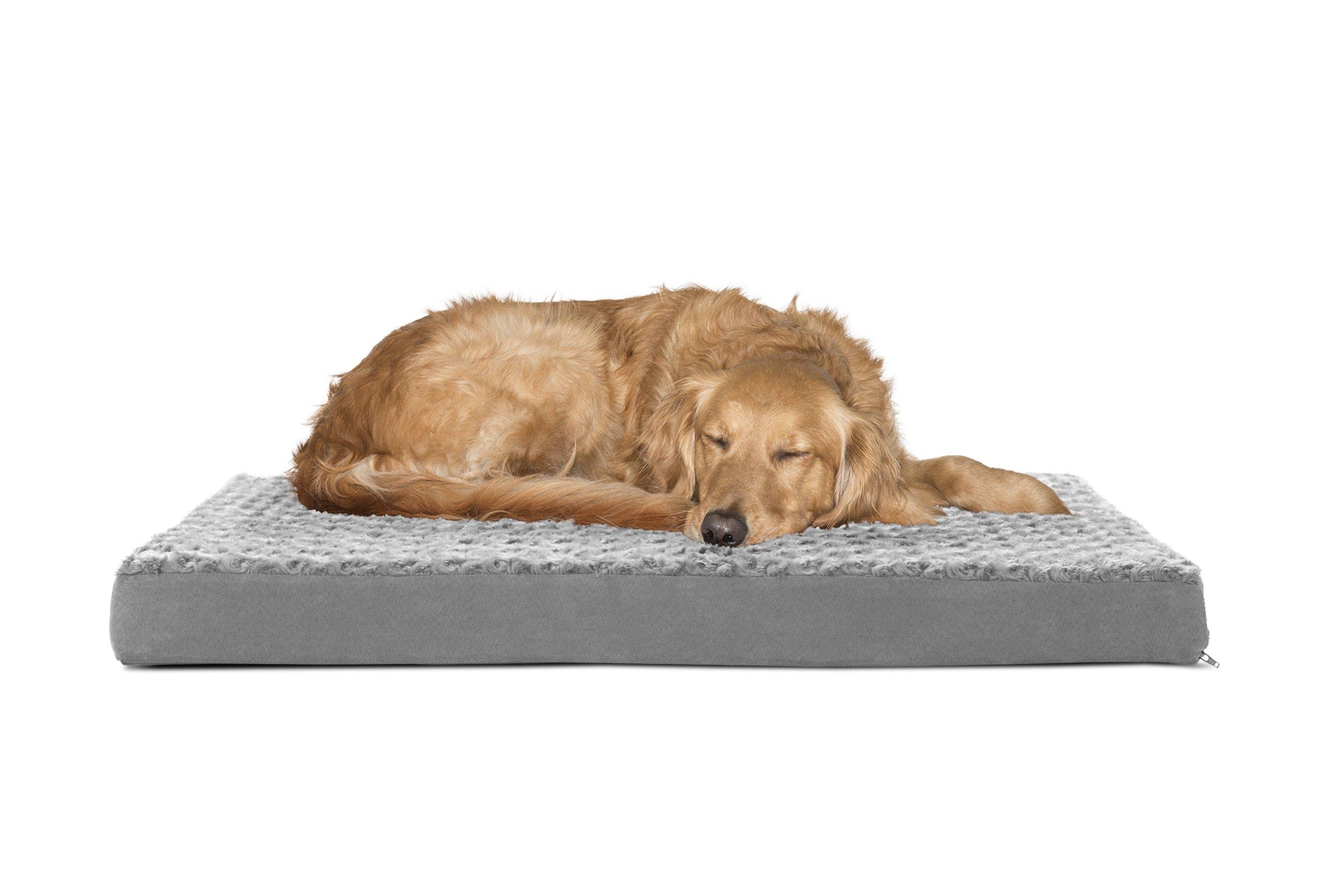 Furhaven Pet Orthopedic Pet Mattress, Large, Gray