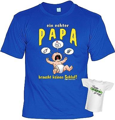 Zur Geburt Frisch Gebackener Vater Geschenke Set T Shirt Ein Echter