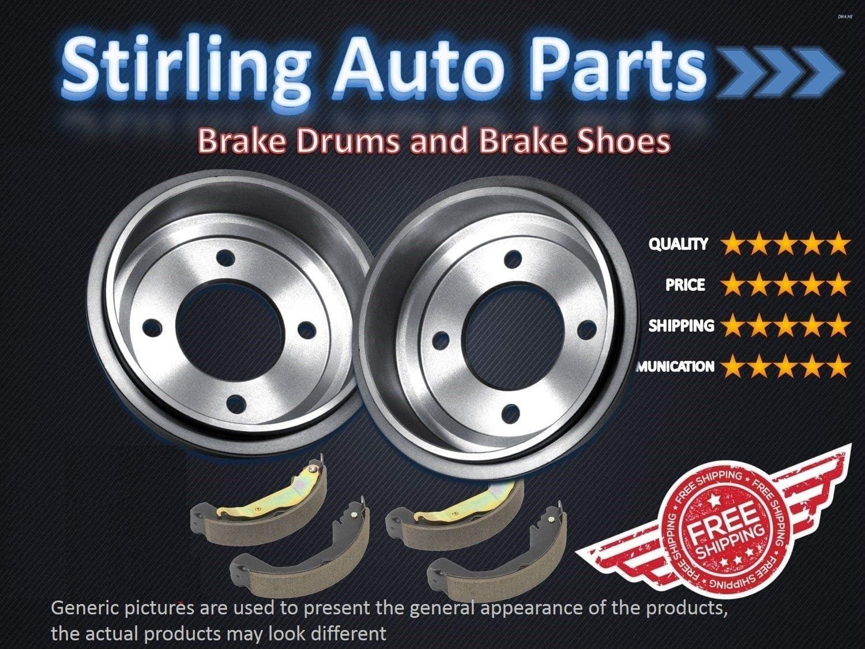 Rear Brake Drum For 2008 Kia Rio EX 1.6 Liter L4 Two Years Warranty Stirling