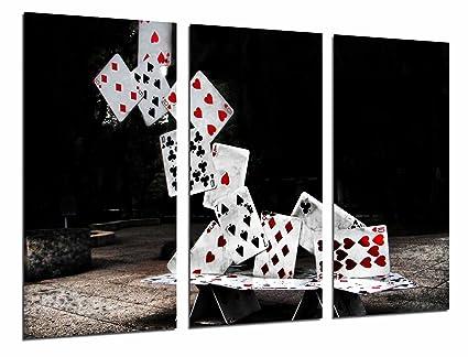 Cuadro Fotográfico Juego de Mesa, Torre de Cartas Poker ...