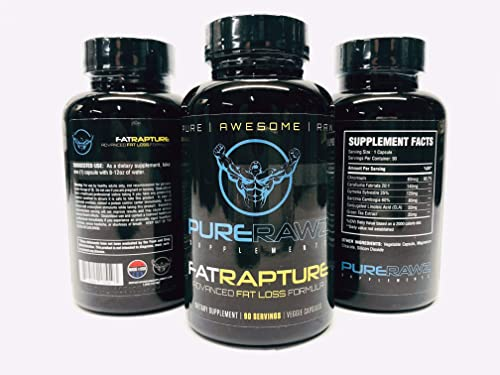 Pure Rawz Supplementz- Fat Rapture Weight Loss Thermogenic for Men and Women, Lose Weight Fast, Keto Friendly, Improve Energy and Focus, Amazing Results, 90 Servings 3 Month Supply