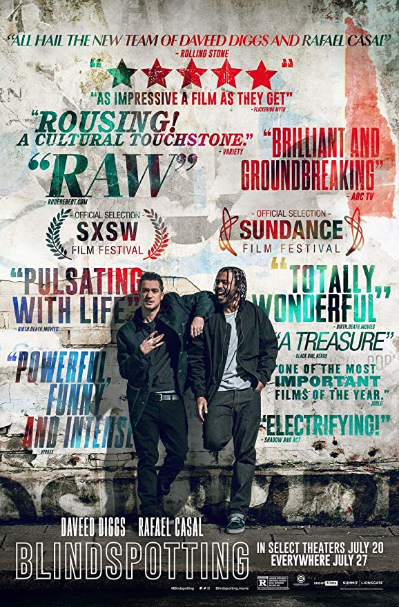 Amazon.com: Blindspotting Movie Poster 18'' x 28'' - by ...