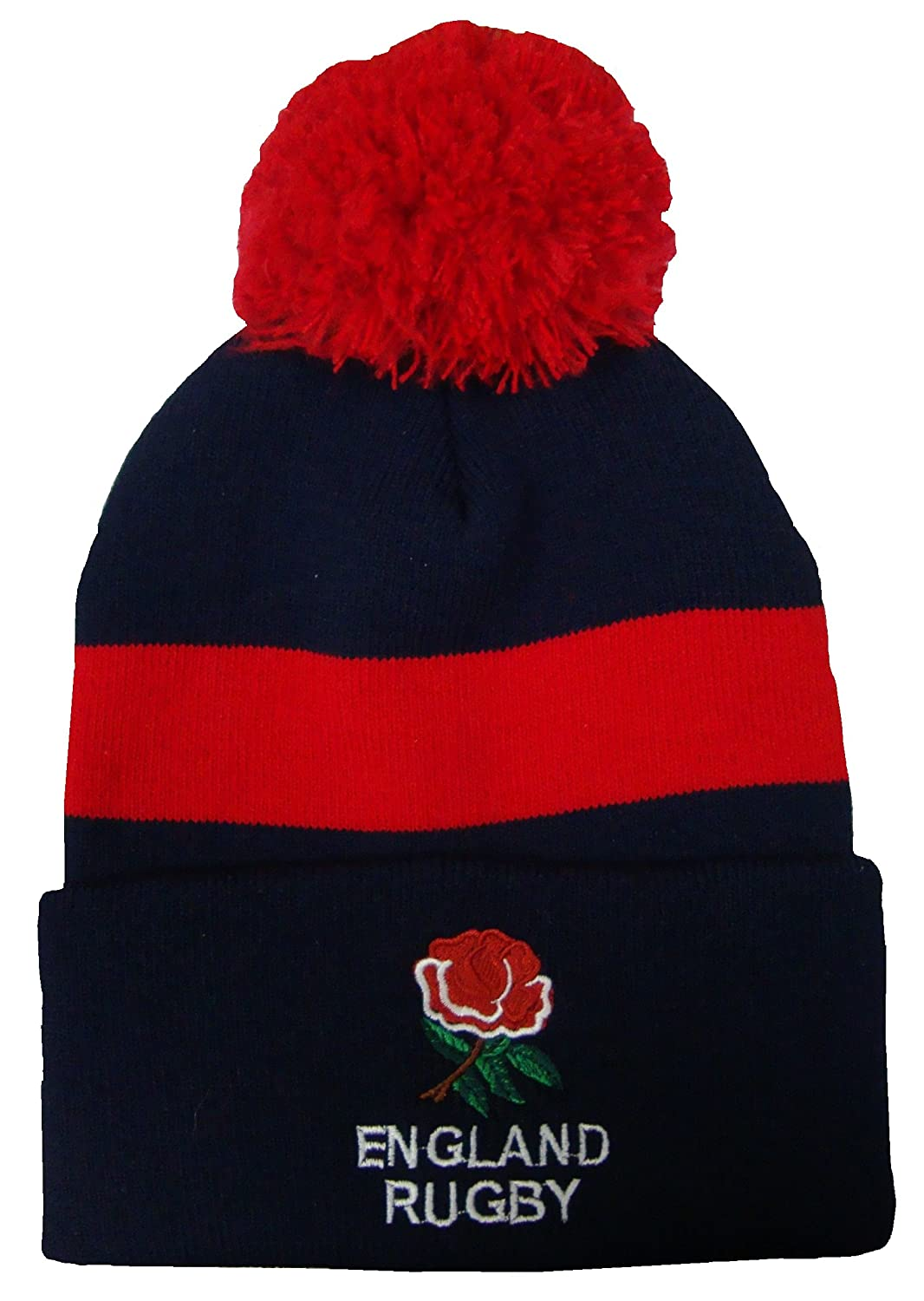 93c0cf4d66e Arena England Rugby Bobble Hat  Amazon.co.uk  Sports   Outdoors