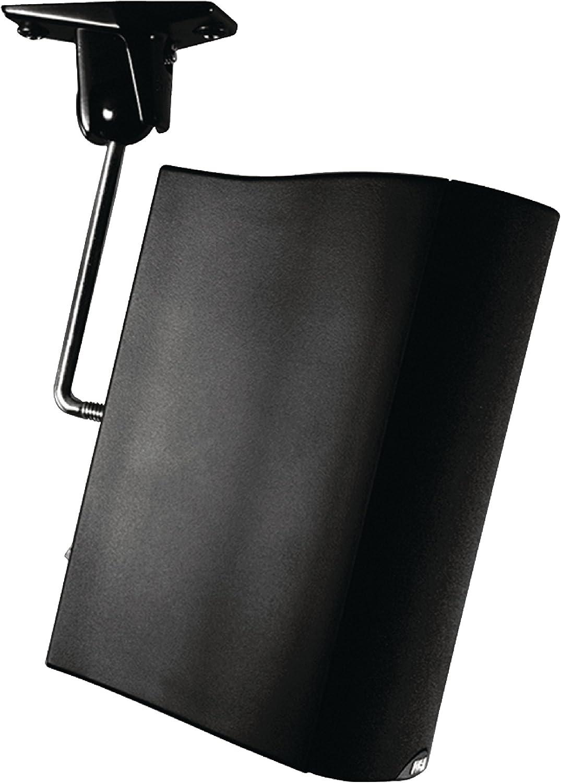 10.0-WALL//CEILING OMNIMOUNT Stainless Steel Universal 10-lbs Speaker Mount,Black