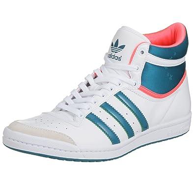 Adidas Top Ten Hi Sleek Hi Sneaker 4,5 whitetealneo