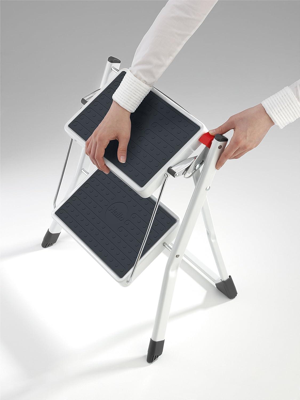 Hailo 4310-100 Alu-Klapptritt Mini Comfort 2 Stufen