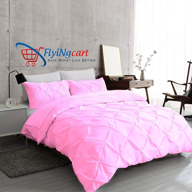 100/% Egyptian Cotton Stripes Pattern Duvet Cover Sets Reversible Bedding Sets LZ