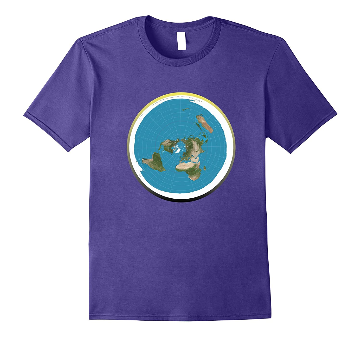 The Flat Earth T-Shirt With Firmament A Question Truth Tee-TH