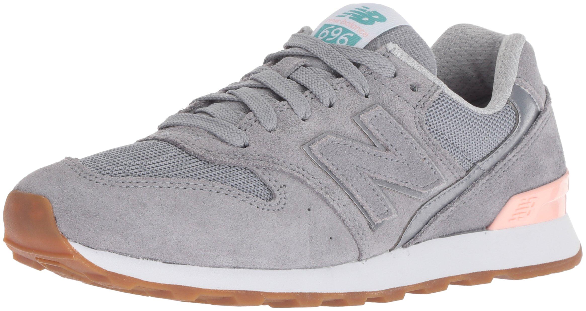New Balance Women's 696v1 Sneaker, Steel, 7.5 B US