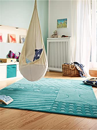 Amazon.de: Esprit Teppiche: Kinderzimmer Kinderteppich Stars and ...