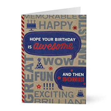 Amazon awesome birthday pack of 25 blank greeting cards awesome birthday pack of 25 blank greeting cards m4hsunfo