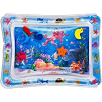 ESSENSIE Tummy Time Mat, Inflatable Baby Water Play Mat for Baby Girl & Baby Boy, Infant Toys for Babies 3-12 Months…