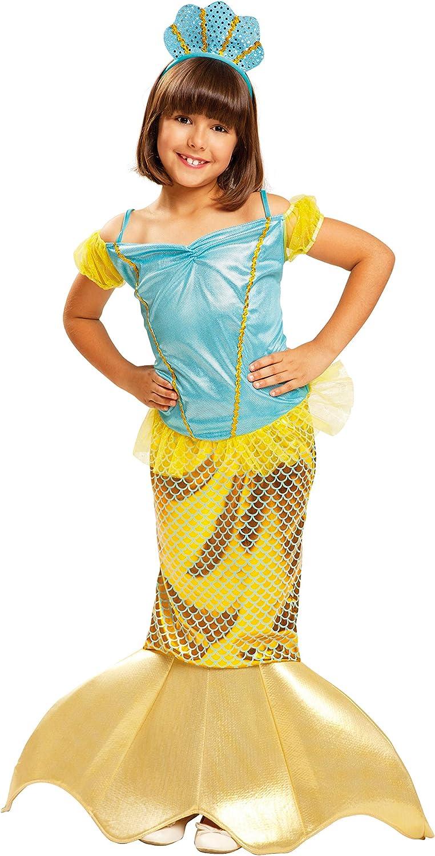 My Other Me Me-200721 Disfraz de Sirenita para niña, 10-12 años ...