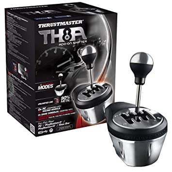 amazon thrustmaster ジョイスティック th8a add on shifter pc ps3