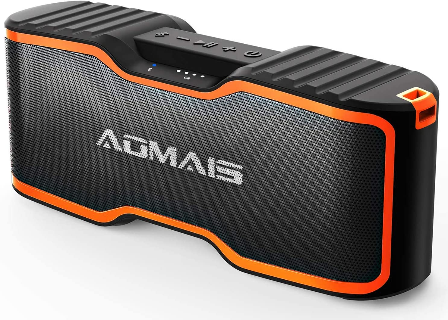 AOMAIS Sport II+ Bluetooth Speakers, Portable Outdoor Wireless Speaker, 30H Playtime, 20W HD Stereo Sound