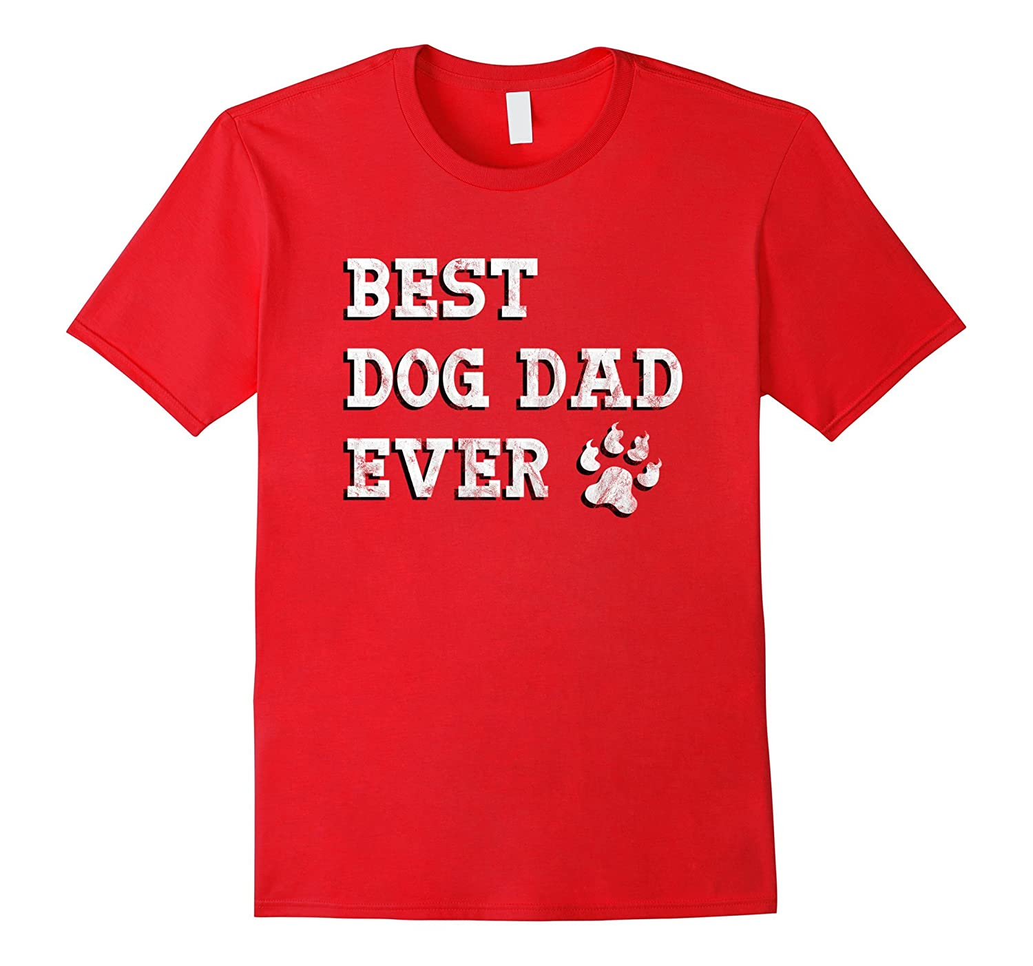Best Dog Dad Ever Shirt Outfit Dogs Funny Fathers Day Gift-TH